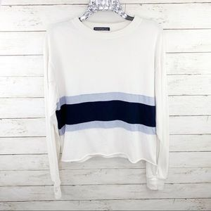 Brandy Melville Long Sleeve Striped Pullover Tee